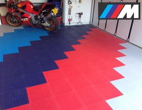 blocktile modular interlocking garage floor tiles
