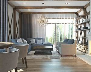 Decorating, Small, Studio, Apartment, Ideas, With, Minimalist, Wooden, Style, Design