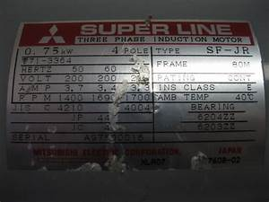 Superline Three Phase Induction Motor