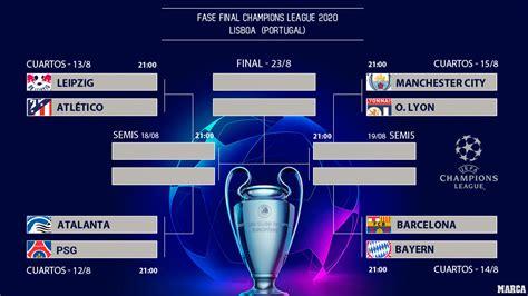 Master one, or master them all. Champions League: Calendario, horarios y resultados de los ...
