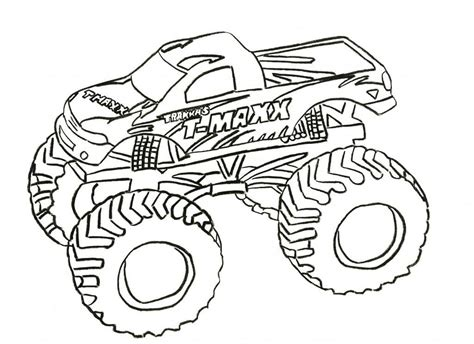 monster trucks coloring pages grave digger monster truck coloring pages az coloring pages