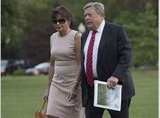 First lady Melania Trump, son Barron officially move into