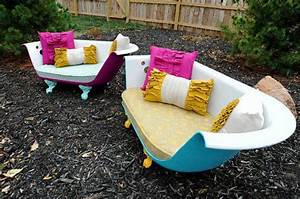 Badewanne Outdoor Garten : kreative recycling wohnideen alte sachen wiederverwenden freshouse ~ Sanjose-hotels-ca.com Haus und Dekorationen
