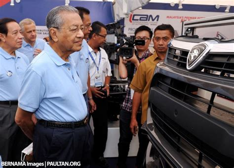 Tun Mahathir Saddened By Proton-geely Agreement