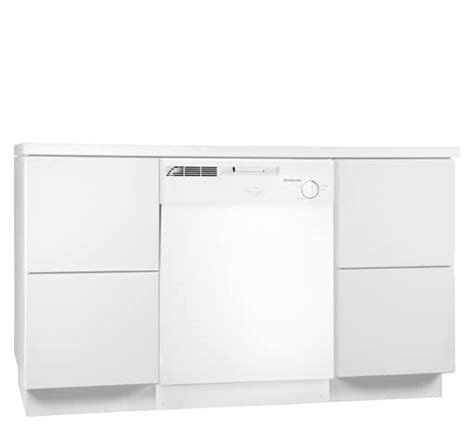electrolux dishwasher air dry and delay lights frigidaire 24 39 39 built in dishwasher white fbd2400kw