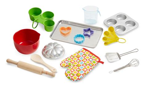 childrens kitchen accessories doug baking play set 20 pcs play 2170