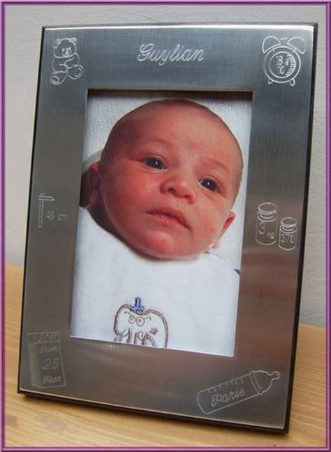 le cadre photo de naissance personnalis 233 et grav 233