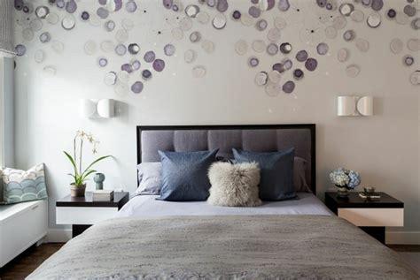 deco murale chambre chambre contemporaine 33 idées déco murale design