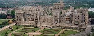 Le château de Windsor et le collège d'Eton