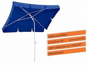 Schneider Sonnenschirme Rechteckig : schneider sonnenschirm ibiza 180x120 cm blau 682 09 real ~ Whattoseeinmadrid.com Haus und Dekorationen