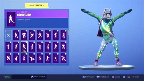 "*new* ""dj Yonder"" Skin With All 103 Dancesemotes (dj"