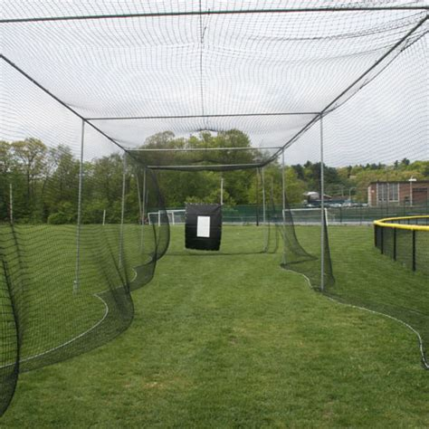 outdoor batting cage for baseball softball on deck sports