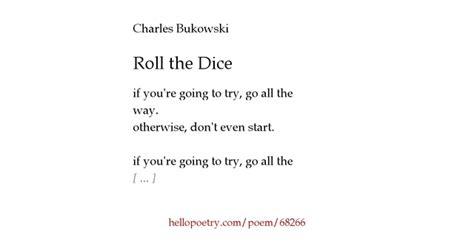 Charles Bukowski Go All Way