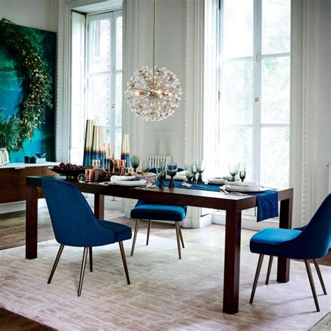 velvet dining chairs mad   house