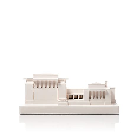unity temple model product shot front view architectural