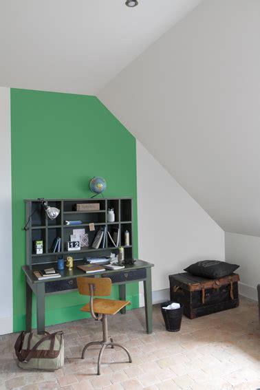 le bureau verte peinture 70 couleurs pour tout repeindre dans la maison
