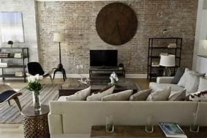 Style Industriel Salon : le meuble tv style industriel en 50 images ~ Teatrodelosmanantiales.com Idées de Décoration
