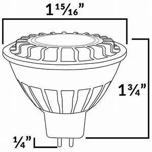 Low Voltage Warm White Led Mr16 Bulb