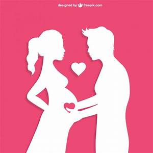 Pregnancy concept Vector Free Download