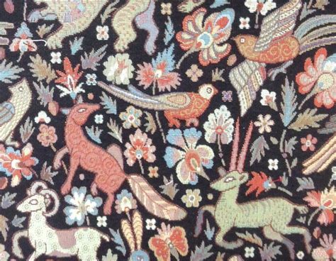 Designer Upholstery Fabric Uk by Traditional Vintage Woodland Tapestry Designer Curtain
