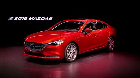 Unveiling The 2018 Mazda6 At The La Auto Show