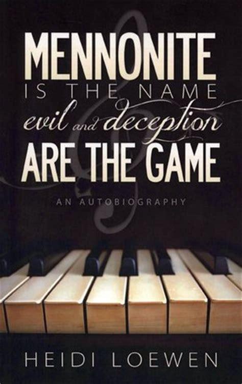 mennonite   nameevil  deception   game