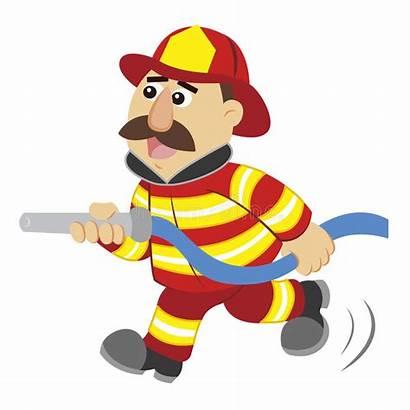 Fireman Cartoon Drawing Illustration Firefighter Fire Firemen