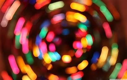 Christmas Lights Exposure 4k Wallpapers Widescreen Uhd