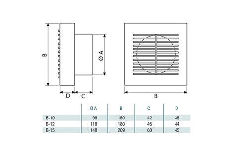 ventilateur de chambre de bain ventilateur de salle bain wc petit cata b10 minuteur