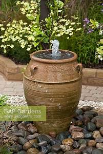 Gap, Gardens, -, Water, Feature, In, Large, Urn, -, Image, No, 0145662