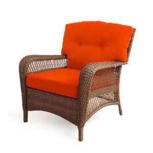 martha stewart charlottetown wicker patio chair settee