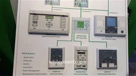 schneider electric pacis digital substation scada youtube