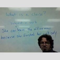 What Is A Clause? Youtube