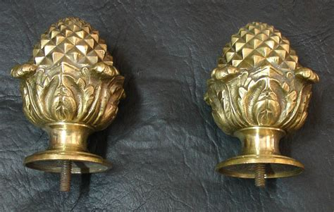 Interesting Antique French Brass Pineapple Ending Furni For Sale Where To Sell Antique Pocket Watches Black Paint Bronze Chandelier Curtain Pole White Furniture West Palm Beach Show Fairgrounds Porcelain Bathtub Buffets Sideboards