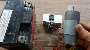 How To Make A Simple Dc Motor Speed Controller