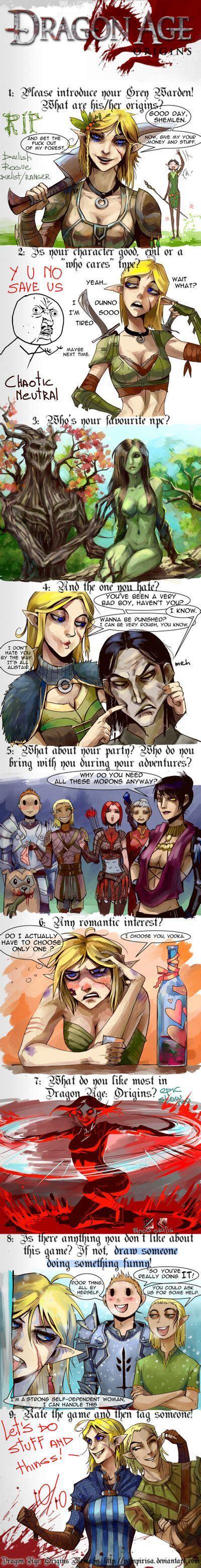 Dragon Age Kink Meme - dragon age origins meme by nanoetetsu deviantart com on deviantart nerdtopia pinterest