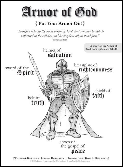 coloring pages heavenly armor of god for coloring