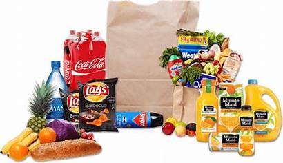 Grocery Items Transparent Shopping Departmental Customer Bazaar