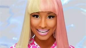 Nicki Minaj - Super Bass - Speed Painting by Roger - YouTube  Nicki