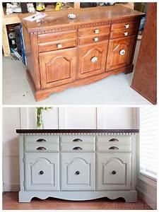 Client Files Vintage Sideboard Buffet Dresser Makeover