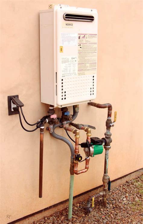 sink on demand recirculation tankless water heater recirculating water