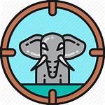 Poaching Clipart Icons Animal Hunter Icon Development