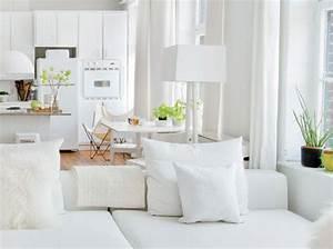 5 interieurs en blanc pour agrandir votre surface elle With comment decorer un appartement blanc