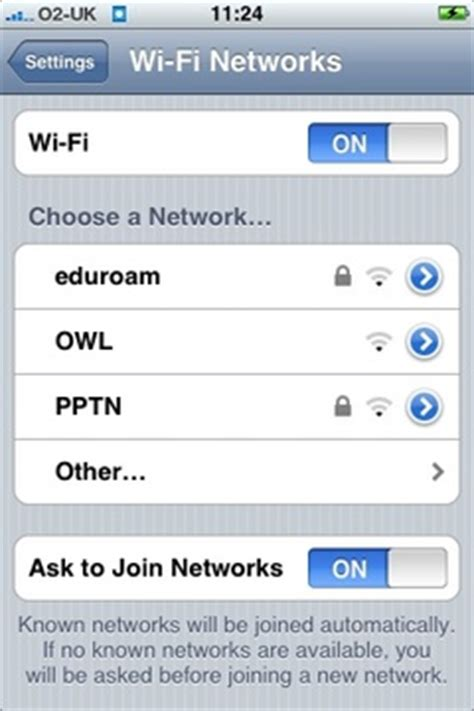 how to see wifi password on iphone connecting to eduroam via iphone ipod touch it services