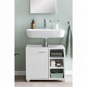 Unterschrank Mit Waschbecken : wohnling waschbeckenunterschrank 60x55x32cm weiss ~ A.2002-acura-tl-radio.info Haus und Dekorationen