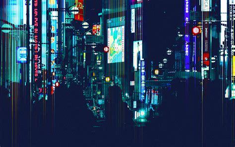 wallpaper  city night city art