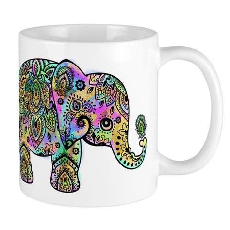 Coffee cups come in all different styles, therefore. CafePress - Colorful Paisley Elephant - Unique Coffee Mug, Coffee Cup CafePress - Walmart.com ...