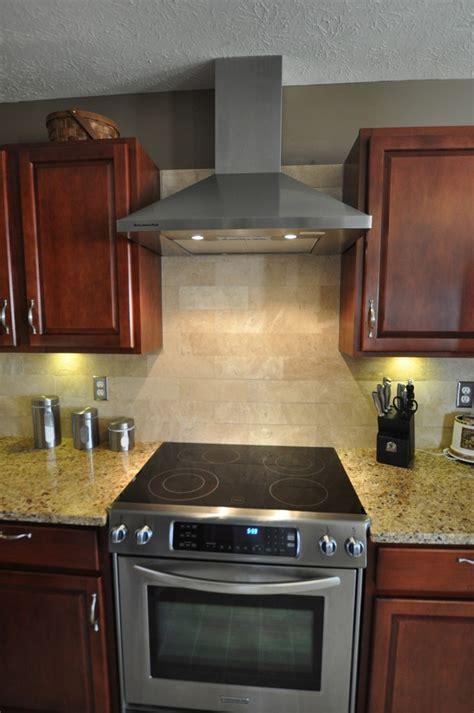 new venetian gold granite countertops Kitchen Traditional