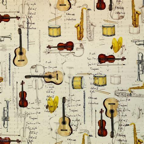 papier tassotti motifs partitions instruments musique