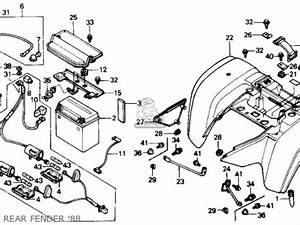 honda trx300fw fourtrax 4x4 1988 j usa parts list With wiring diagram further honda 300 fourtrax wiring diagram on 4 wheeler